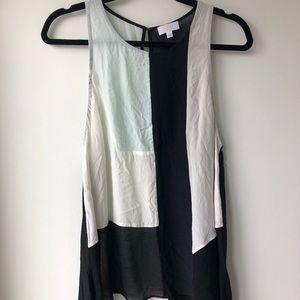 Worn once Aritzia Wilfred silk blouse tank top